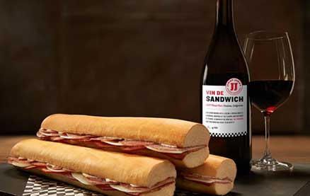 """Jimmy John's Created """"Sandwich Wine"""" and We're Obsessed"""