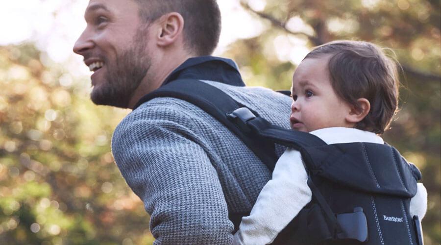 BabyBjorn-dad