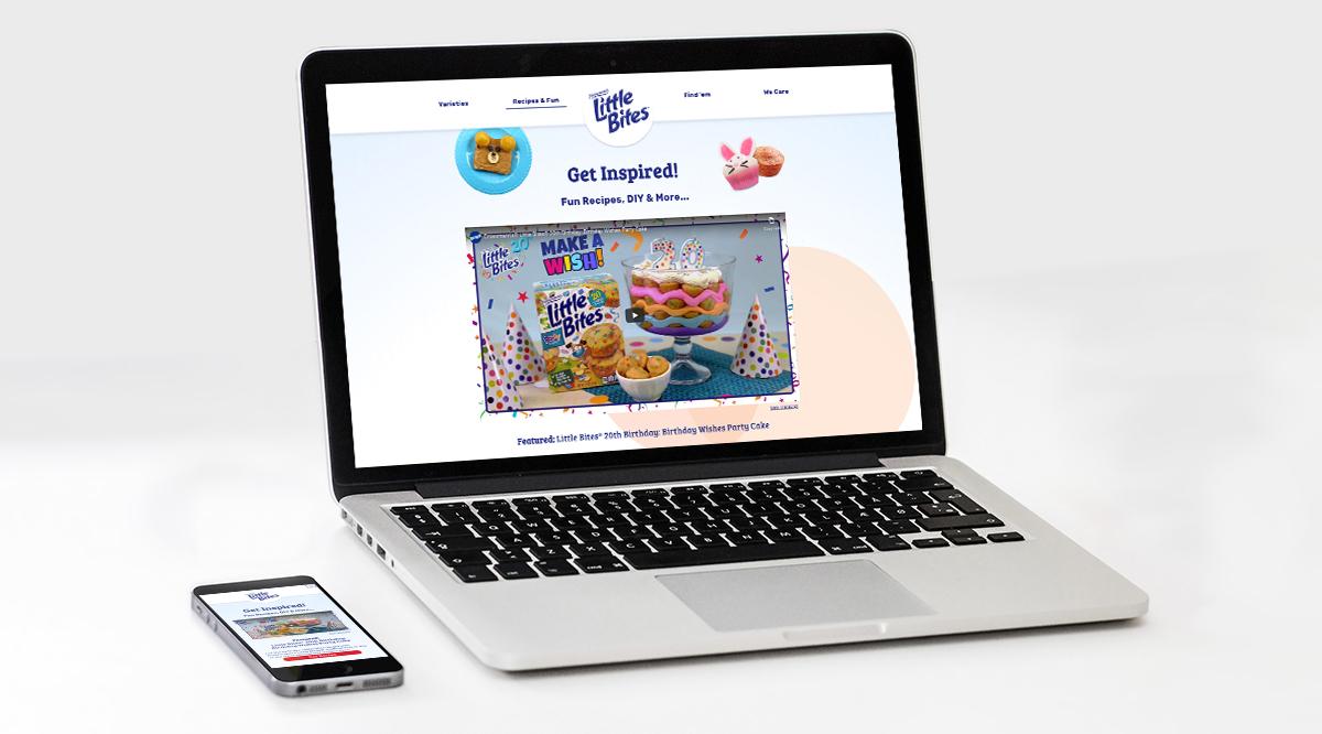 Little Bites website