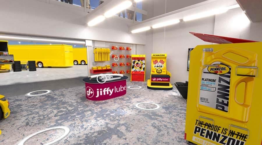 Pennzoil Joey Logano Garage Hotspot #1