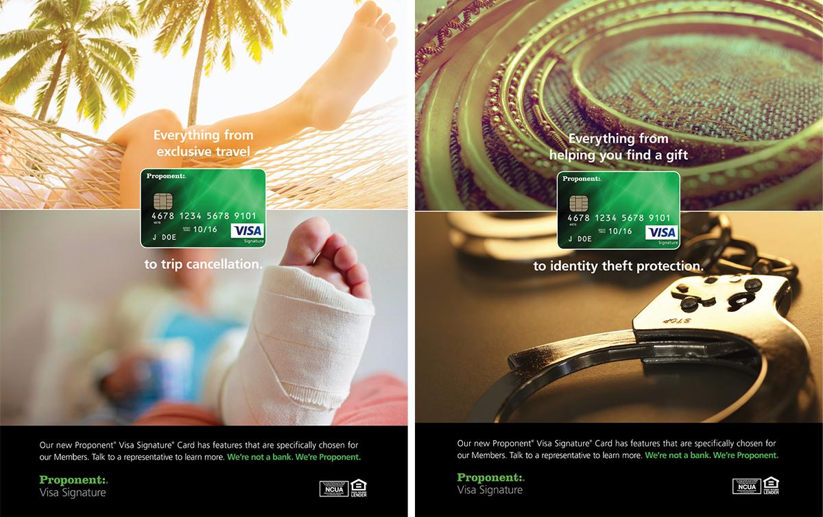 Proponent Visa Signature Ads2
