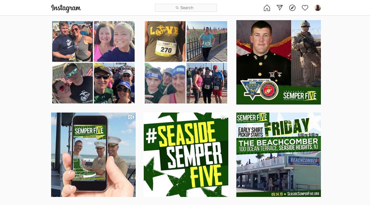 Seaside Semper Five Instagram