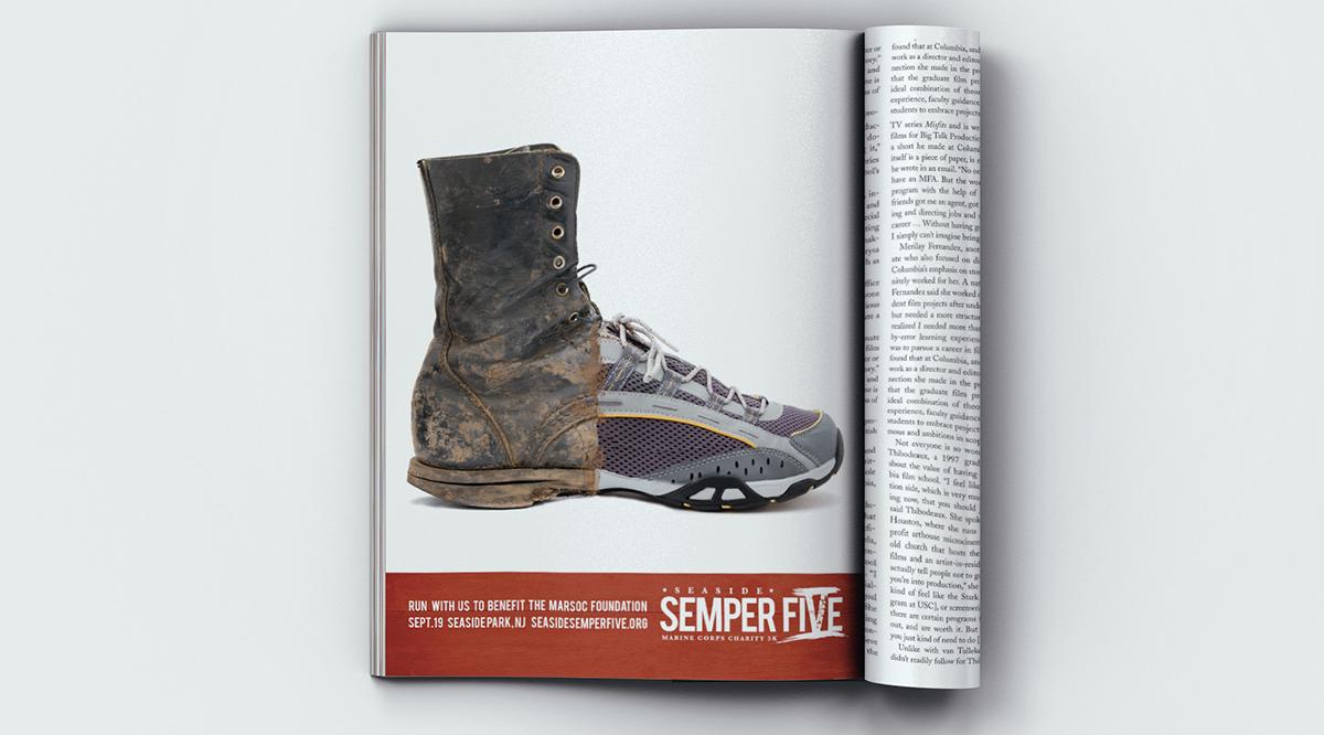 Semper Five boot