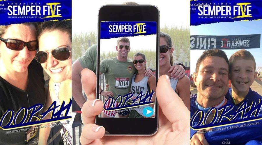 Semper Five Snapchat filter