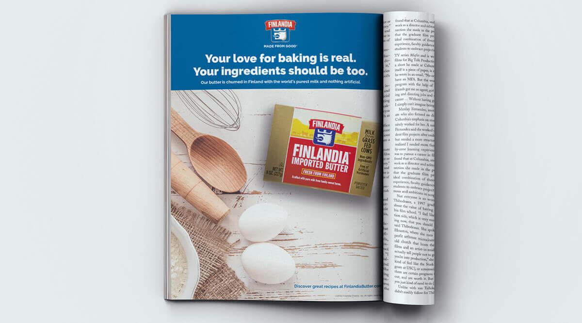 Finlandia Butter Magazine