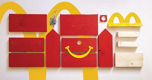 McDonald's is Making Happy Meal Bird Houses for Endangered Species