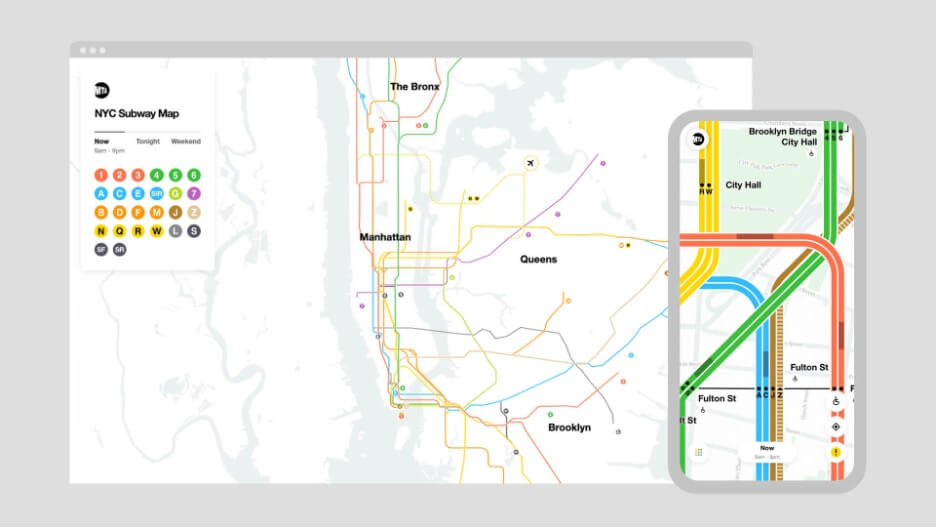 The New York Subway Maps' First Major Redesign in 40 Years Unites the Best Parts of its Controversial Creative History