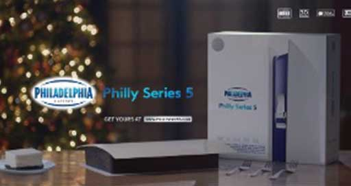 Philadelphia Cream Cheese Spoofs a Gaming Console Ad to Promote a Cheesecake Kit