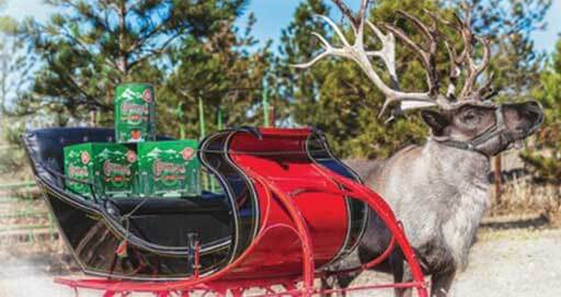 Reindeer Will Be Delivering Beer for a Colorado Brewery This Year