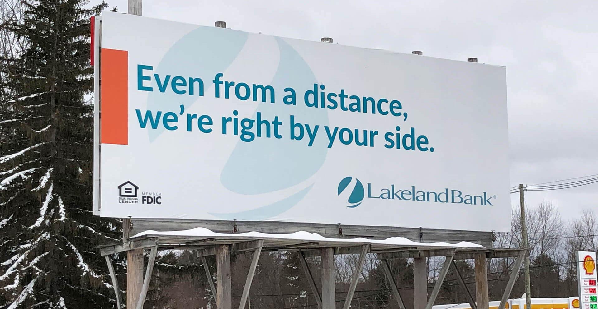 Lakeland Bank Billboard