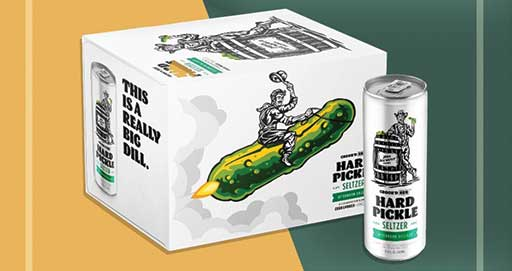 Pickle Hard Seltzer? Pickle Lovers Will Think Afternoon Dillight is 'A Really Big Dill'