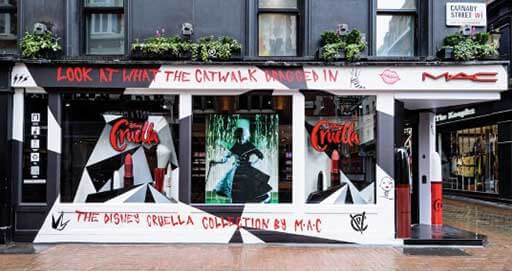 Disney Delivers Devilish Brand Deals to Highlight Cruella Cinema Launch