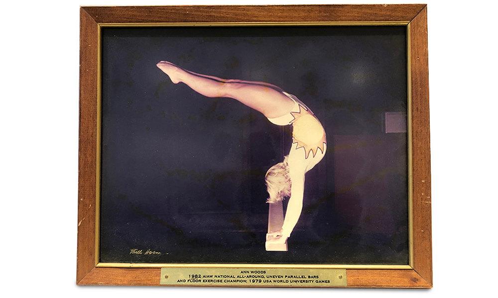 Ann Smith Gymnast Photo