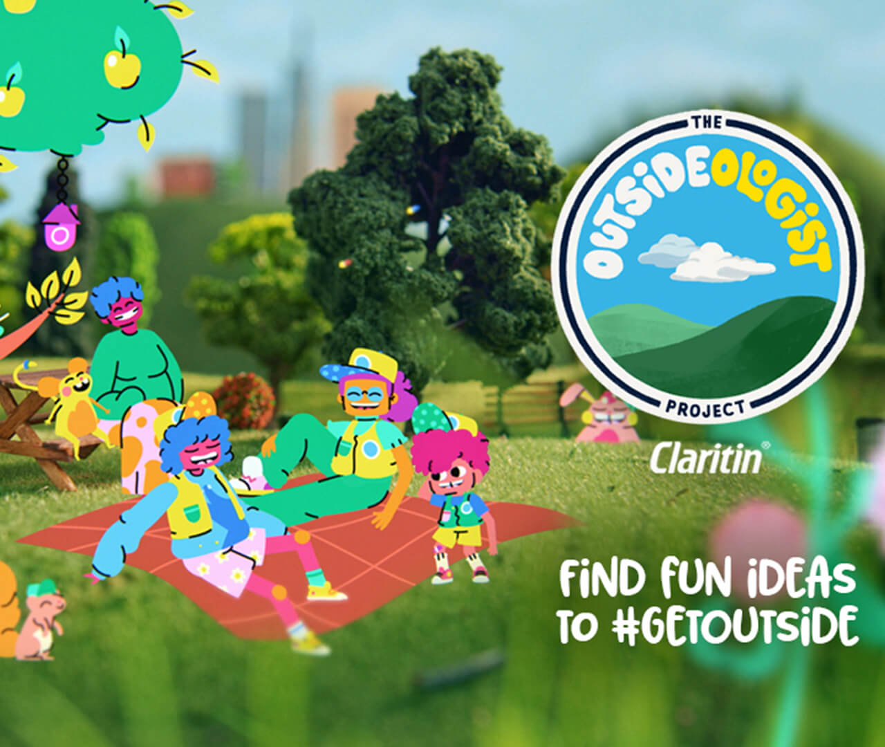 Why Claritin is Campaigning to Get Children Outside