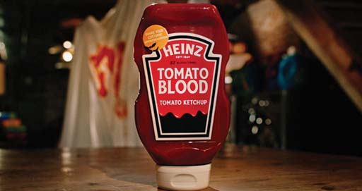 Heinz Ketchup Is Selling Halloween Makeup Kits with Tomato Blood