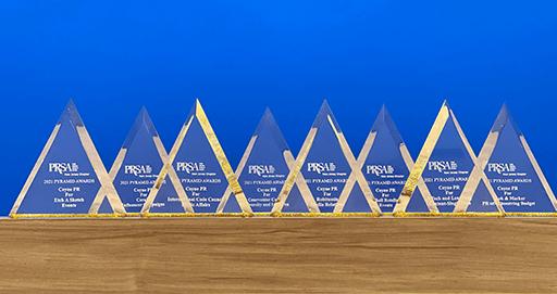 Coyne PR Awarded Eight 2021 PRSA-NJ Pyramid Awards